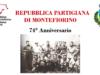 Repubblica partigiana di Montefiorino. 74° anniversario